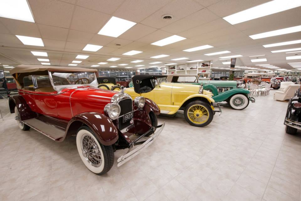 Evergreen Historic Automobiles and Classic Cars Lebanon MO